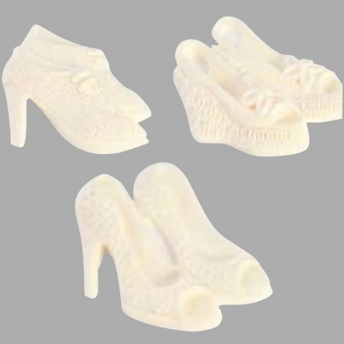 Silicone Mould Shoes 2 - Textured